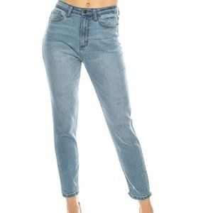 Women's high waist jeans
